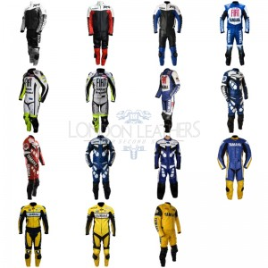 Custom Made YAMAHA Leather Motorcycle Suit Set 2